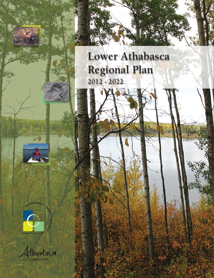 Cover of the Lower Athabasca Regional Plan report